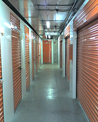 Picture of a Storage Unit Hallway