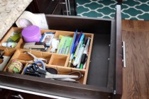 Picture of an Organized Kitchen Drawer