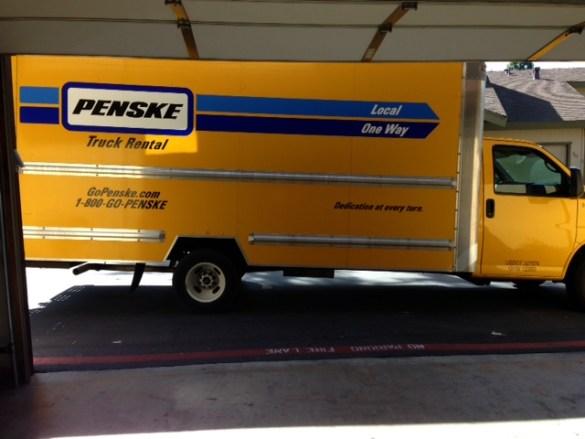 Photo of My Penske Moving Truck