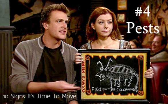 HIMYM Cockamouse Pests - Reasons to Move