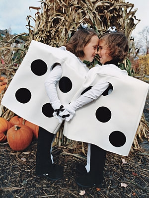 DIY Halloween Costumes - Dice