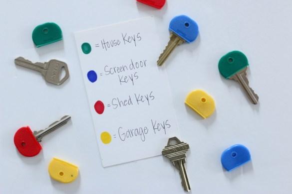 Organizing Keys