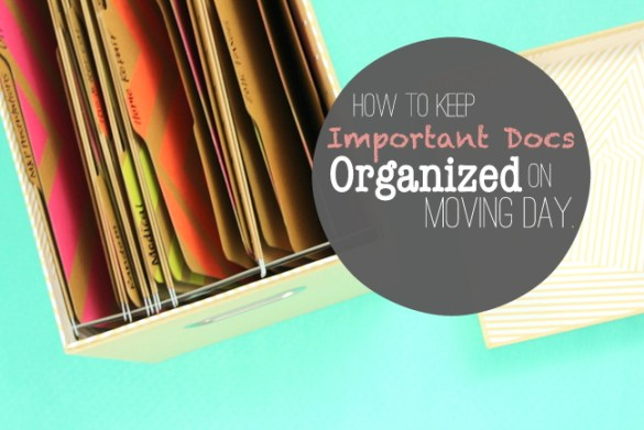 How to Keep Important Documents Organized on Moving Day
