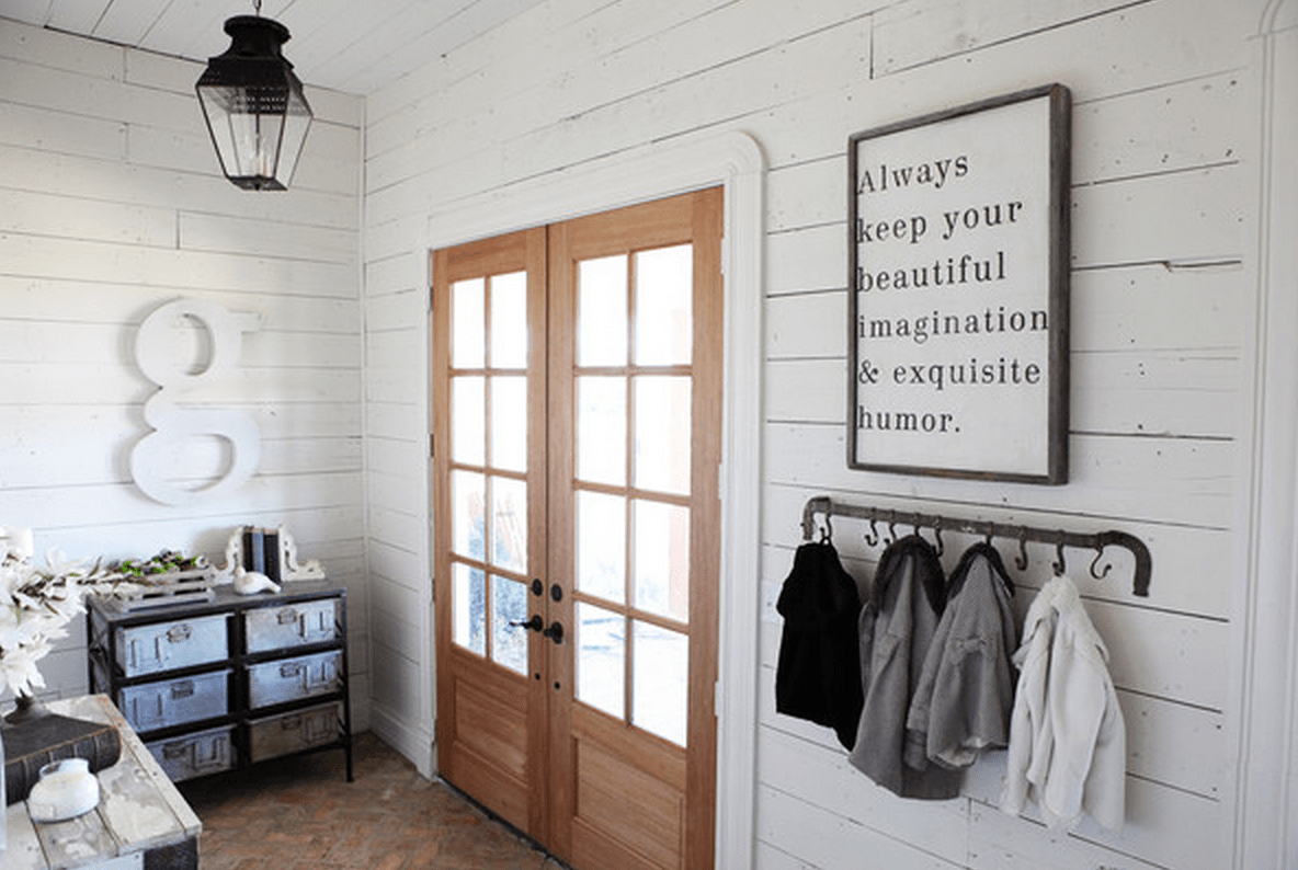 Fixer upper shiplap kitchen - Fixerupperwhiteship