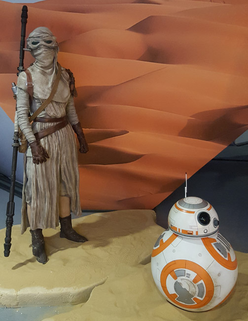 star wars bb8 diorama