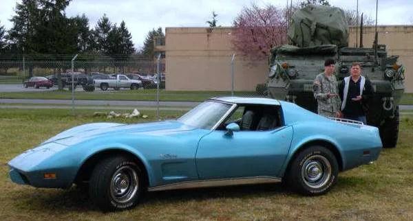 Jay Comparoni 1976 Corvette