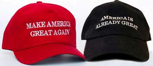 trump clinton hat