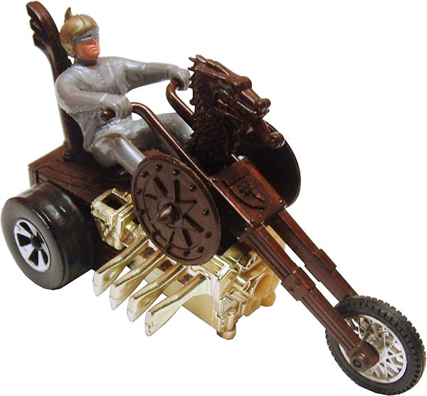 Hot Wheels Sizzlers Chopcycle Triking Viking