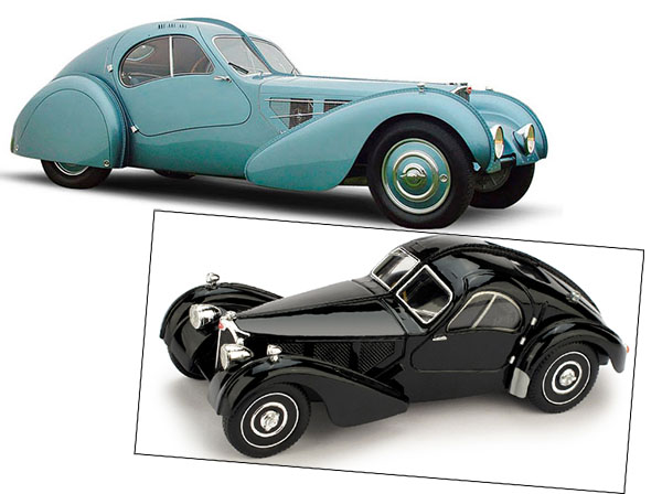 brumm revival Bugatti Atlantic