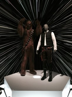 Chewy and Han costumes