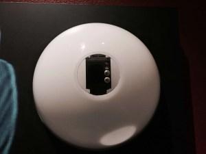 Leias digital watch close up