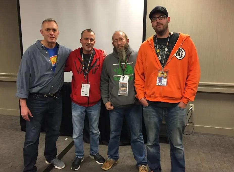 Pictured: Dan Hornberger, Mike Barnes, Roy Friend, & Brian Klyn