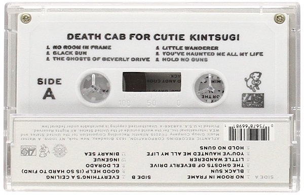 death cab for cutie cassette