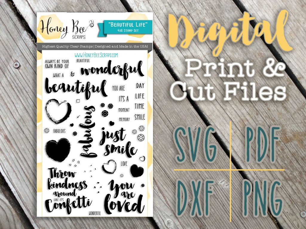 Digital Print & Cut Files Now Available!