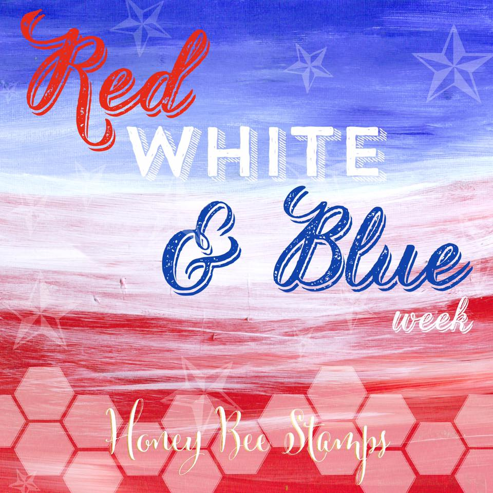 Spotted! Red, White & Blue Week Continues #HBSChallenge