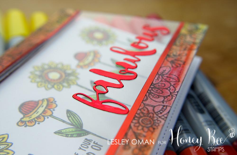 Fabulous Funky Flowers – Acetate, Gelatos & Beautiful Blooms!