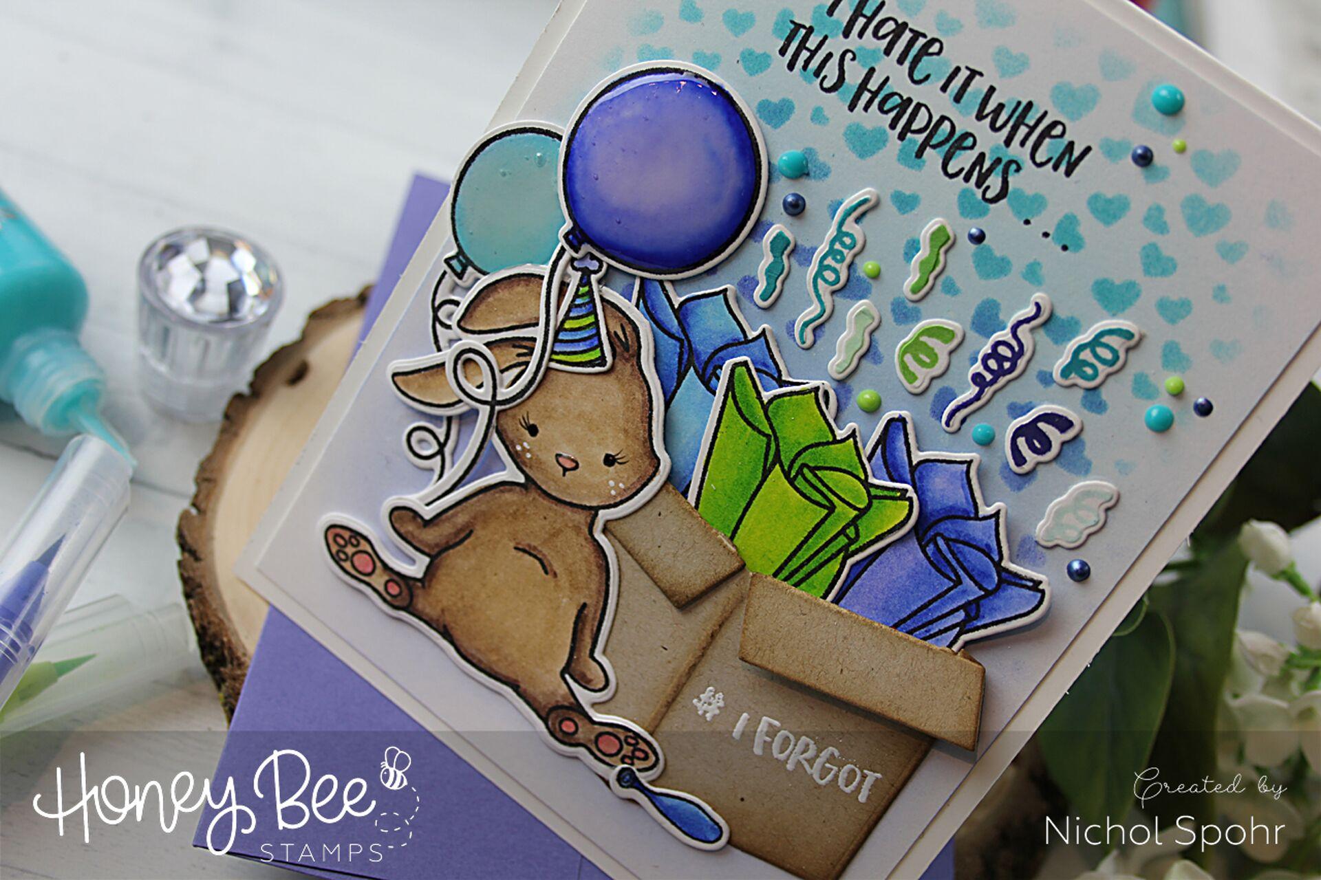 Belated Birthday Blah Humbunny Card