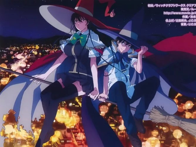 Sword Girl Wallpaper Top 10 Witch Anime List Best Recommendations