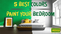 5 best Colors to Paint your Bedroom