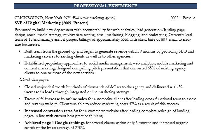 How to Write a Marketing Resume Hiring Managers Will Notice Free - marketing student resume