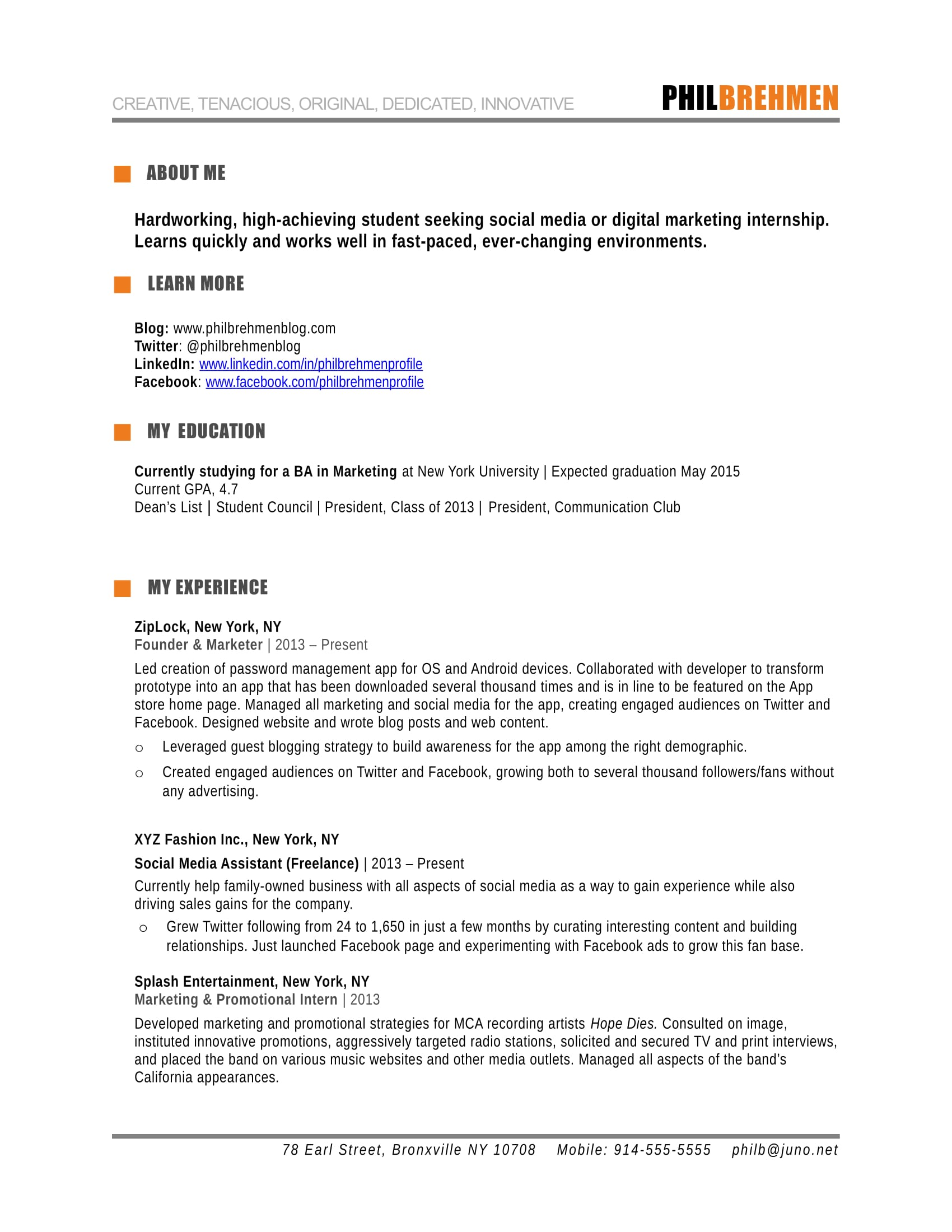 Formatting Rules To Get Your Resume Through The Scanning How To Write A Marketing Resume Hiring Managers Will