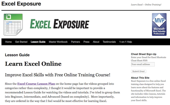 How to Learn Excel Online 21 Free and Paid Resources for Excel Training