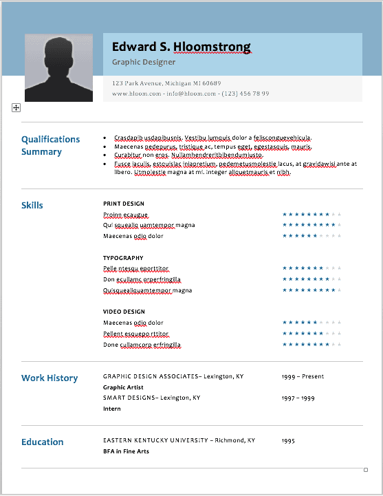 wayne lockwood the 17 best resume templates for every type of professional