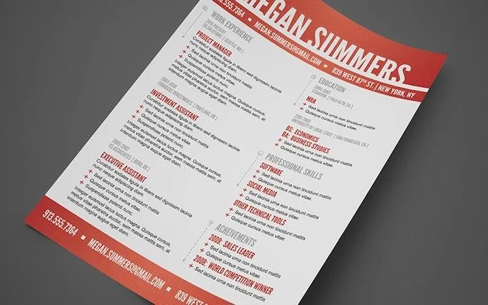 The 17 Best Resume Templates for Every Type of Professional - creative professional resumes