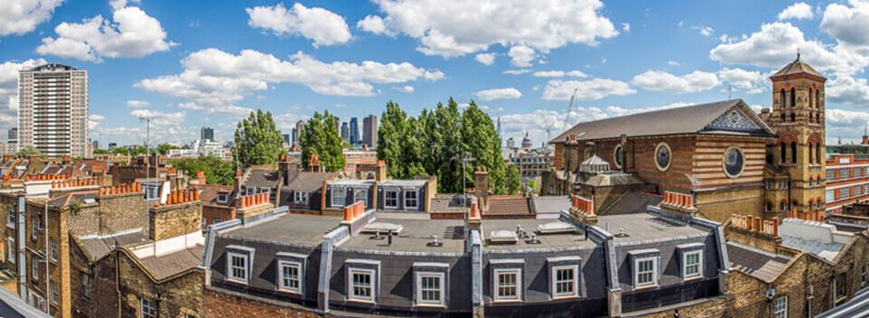 Skyline Views From 62-68 Rosebery Avenue, Clerkenwell, EC1