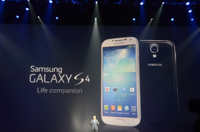 Samsung announces Samsung Galaxy S4