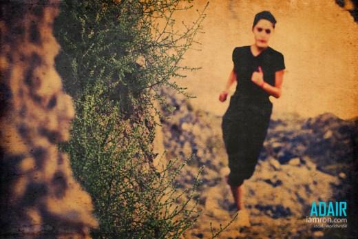 Photograph Of Girl Running Utah