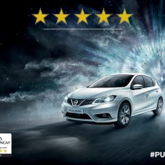El Nissan Pulsar obtiene la máxima puntuación EuroNCAP
