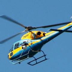 La DGT sobrevuela las carreteras con ocho helicópteros-radar