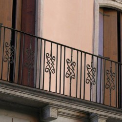 Small Crop Of Wrought Iron Railings