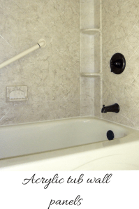 How to compare grout free shower and tub wall panels