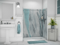 Fiberglass Shower Panels. Decorative Shower And Tub Wall ...