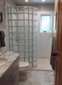 How to select a shape for your glass block shower wall ...