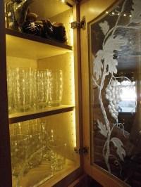 Installing Lighting on a Glass Cabinet | InspiredLED Blog