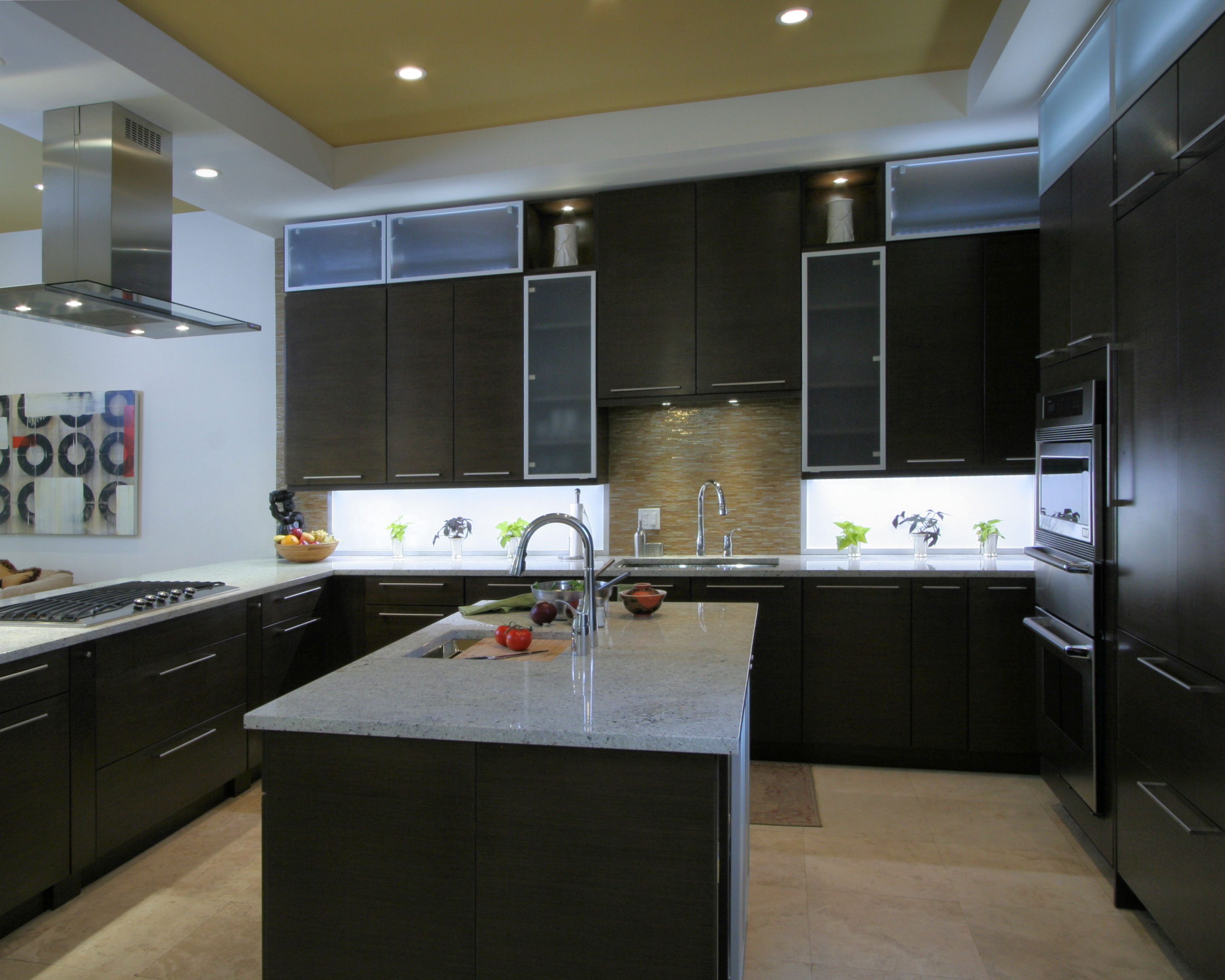 Led Lighting Under Cabinet Kitchen Defining Accent And Task Lighting Inspiredled Blog