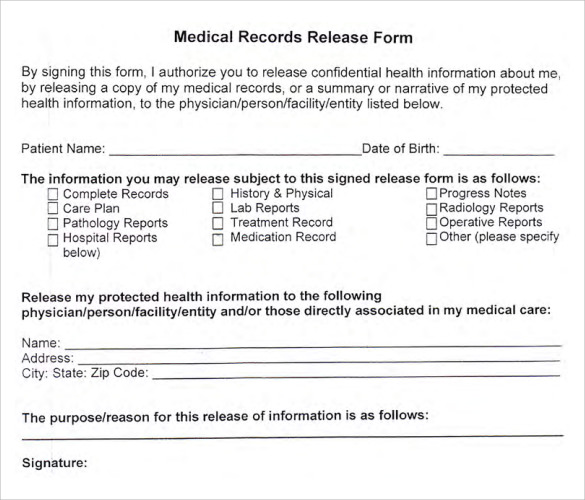information release form - Antaexpocoaching - medical release of information form template
