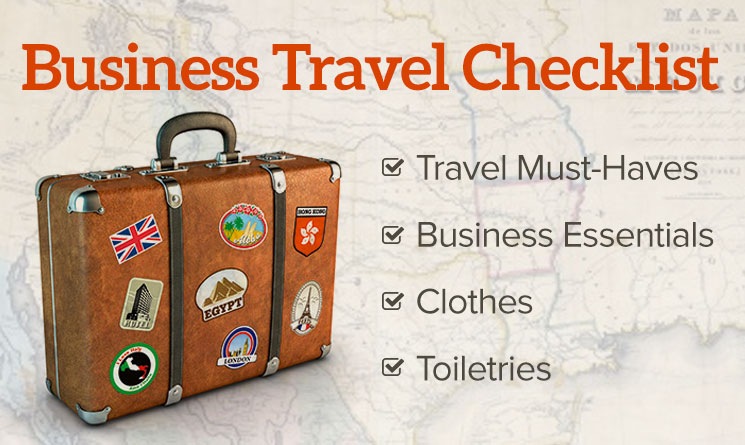 What You Should Have on Your Business Travel Checklist