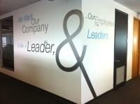 Intelex emblazons walls with corporate values - Intelex Blog