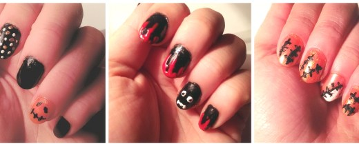 All 3 nail art styles