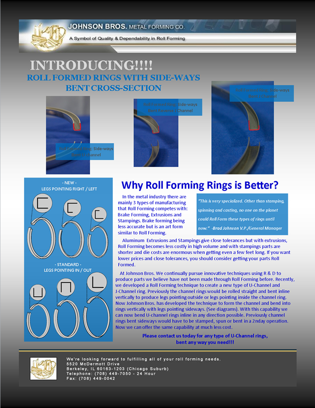 Why Roll Forming Rings is Better?