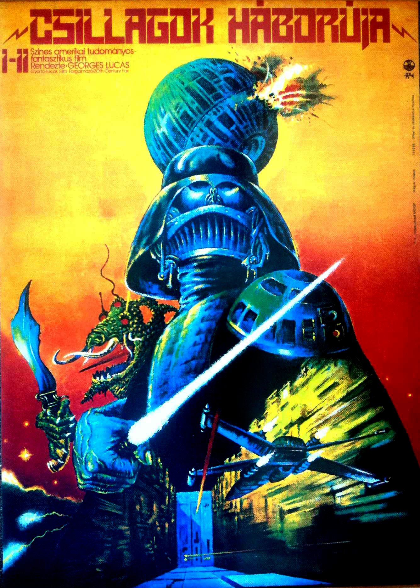 Star Wars Poster Hungarian Star Wars Posters Iso50 Blog The Blog Of