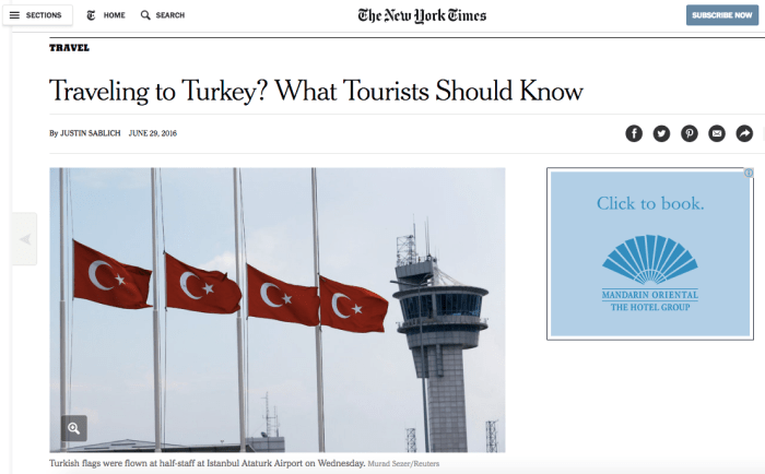 Traveling to Turkey? What Tourists Should Know