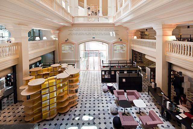 Salt Galata Library, Istanbul