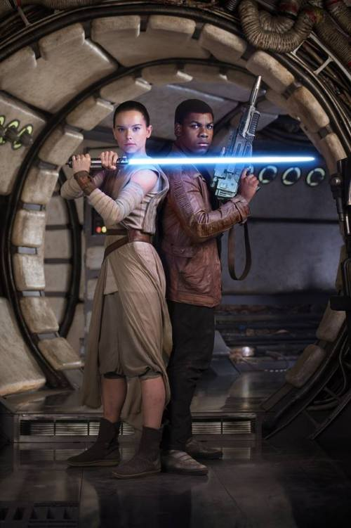 Daisy Ridley and John Boyega of Star Wars: The Force Awakens (short film and movie news)