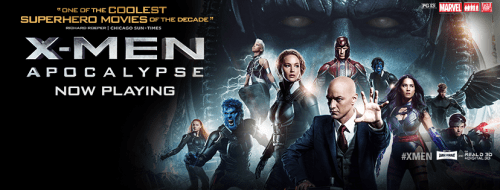 X-Men: Apocalypse Film Poster (short film and movie news)