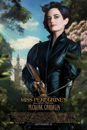 Miss Peregrine's Home for Peculiar Children (short film and movie news)